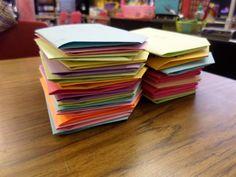 Universal Letter Writing Week Lesson Idea via Math = Love