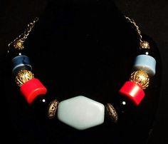 gargantilla, collar, piedras, bijoux HANDMADE URUGUAY ✨ agus bijoux necklace!
