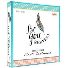 Binder Cover Insert and Spine Mops Theme, Be You Bravely, Inspirational Phrases, Binder Covers, Creative Activities, Getting Organized, Storage Organization, Projects To Try, Lettering