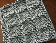 KNITTING PATTERN-Bridgette Dishcloth Pattern