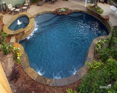 Natural / Freeform Pool #032 by Southernwind Pools