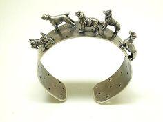 """""""Dog Cuff Bracelet""""  Jewelry Bracelets    Created by Kristin Lora"""