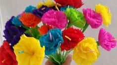 Mexican paper flowers cinco de mayo 10 crepe paper flowers dia de more information more information hawaiian luau 10 paper flowers dia de los muertos mightylinksfo