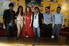 Actors Purab Kohli, Kirti Kulhari, Saidah Jules, filmmaker Girish Malik and others during a press conference to promote their upcoming film ...