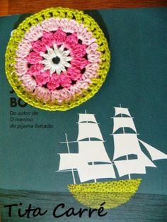 'Tita Carre' Tita Carré - Agulha e Tricot : Crochet Circle ou Círculo em Crochet e o Garoto no Convés