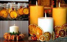 Voglia di rendere accogliente la tua casa profumandola un po'? Ecco delle bellisisme decorazioni di natale con le arance