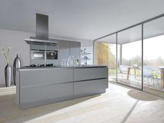 Bruynzeel Optima Accent keuken in het lavazwart  keukens  Pinterest