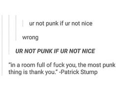 And this is just one of the many reasons why Patrick is amazing