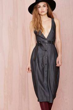 Nasty Gal Hard Werker Dress - Dresses