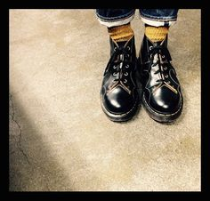 Dr. Martens - 'Church' Monkey boot