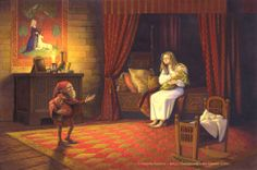 """Illustration for tale """"Rumpelstiltskin"""" by Brothers Grimm. Mythological Creatures, Mythical Creatures, Rapunzel, Famous Legends, Rumpelstiltskin, Brothers Grimm, Grimm Fairy Tales, Fairytale Art, The Little Prince"""
