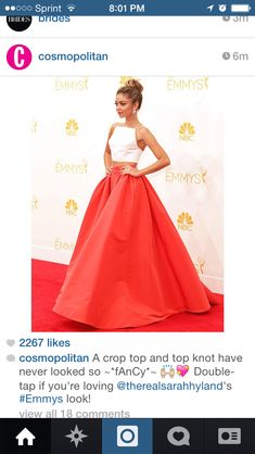 Emmys super cute dress.