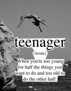 And for me I have older siblings and younger siblings I'm in between.