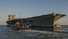 USS Enterprise (CVN 65) Makes Final Voyage For Inactivation