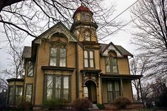 Bullock Clifton House Louisville KY  by Good Millwork, via Flickr