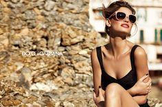 Bianca Balti for Dolce & Gabbana Eyewear