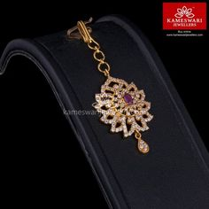 Shop traditional maang tikka online from Kameswari Jewellers in India. Choose from latest maang tikka and bridal jewellery collections.