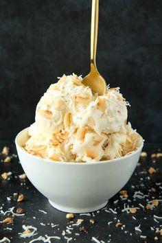 Almond Milk Ice Cream, Dairy Free Ice Cream, Keto Ice Cream, Coconut Milk Icecream, Low Cal Ice Cream, Almond Butter, Peanut Butter, Low Carb Desserts, Frozen Desserts