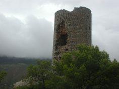 Torre albarrana del Castell de Montornés Ancient Architecture, Portugal, Towers, Castles, Cities, Vintage Architecture