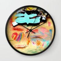 RAiN LOVE Wall Clock