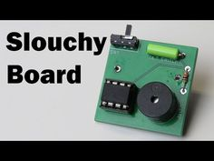 Slouchy board is a small x PCB that uses a tilt sensor, a piezo buzzer, and an chip to see if the user is slouching. If the user is slouch. Printed Circuit Board, Buzzer, Annoyed, Tilt, Arduino, Science And Technology