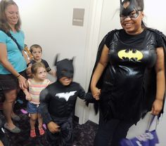Batman Day at the Fort Bend County Library in Richmond, TX