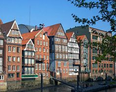 Historic Homes, Hamburg, Germany
