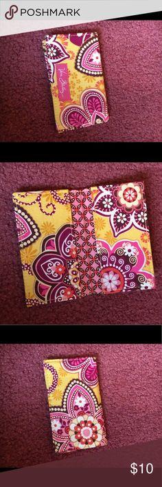 Vera Bradley Pinwheel Pink Wallet Nwt Design And Wristlets