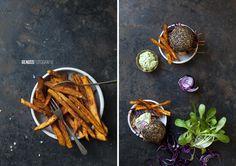 Süßkartoffel Frittes, www.genussfotografie.at Lifestyle Fotografie, Meat, Food, Kochen, Meals, Yemek, Eten