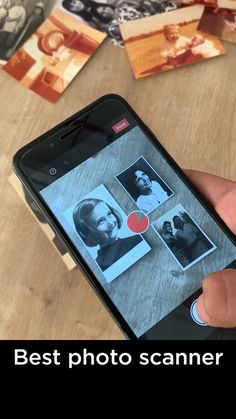Scan your old photos. Keep your memories safe forever Easy to use app for saving old paper photos and sharing them with family and friends