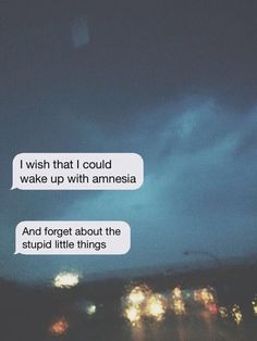 Sad Love Quotes : QUOTATION – Image : Quotes Of the day – Life Quote I wish I could wake up with amnesia… and forget all the things that have made me sad. Sharing is Caring Sad Song Lyrics, Song Lyrics Wallpaper, Song Lyric Quotes, Music Lyrics, Music Quotes, Wallpaper Quotes, Lyric Quotes Tumblr, Sad Love Quotes, Broken Love Quotes