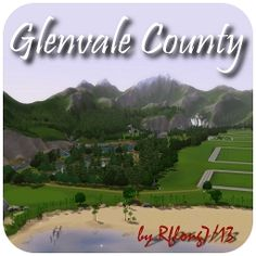 Glenvale County by Rflong7 - The Exchange - Community - The Sims 3 Sims 3 Generations, Sims 3 Worlds, Sims 3 Games, Sims Pets, History Page, Purchase History, Free News, Mountain View, The Expanse