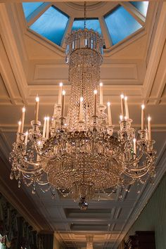 chandelier (Chatsworth House)