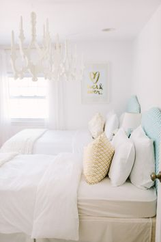 loving this room on SMP featuring my EVER & EVER gold print! xo