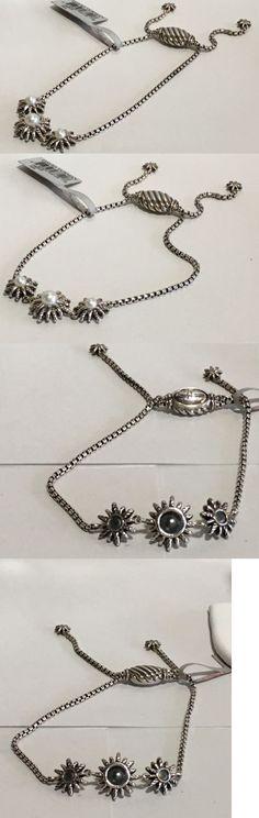 Pearl 164316: David Yurman Sterling Silver Starburst 3 Station Pearl Bracelet $650 Nwt -> BUY IT NOW ONLY: $413.85 on eBay!