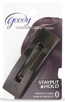Goody Beautiful Black Stayput Hold Barrette -- undefined #HairBarrettes