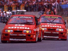 Ford Sierra RS500 Cosworth ATC race cars