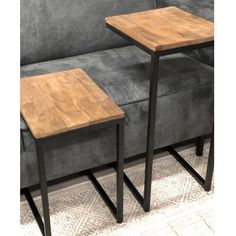 Industriële bijzettafel Molly hoog Living Room Color Schemes, Living Room Designs, Living Room Decor, Home Office Furniture Design, Industrial Side Table, Small Lounge, Coffee Table Plans, Bed Frame With Storage, Rustic Room
