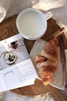 petit-déjeuner de janvier
