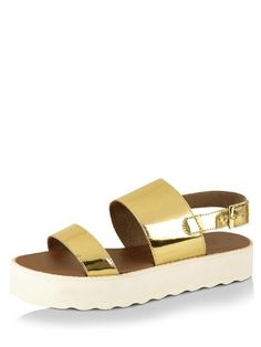 f67064c7cc5f Buy Women Zebba Gold Platform Sandals Online only for Grab Girl s Zebba  Gold Platform Sandals Online in India at best prices exclusively at KOOVS.