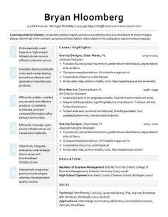Resume Headings Reume Template Bulletin  My Style  Pinterest  Template