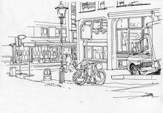 urban sketchers | Urban Sketchers Switzerland: Cold