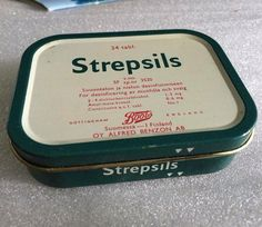 Strepsils cough sweets-was often sent to school with these in the winter. Minnen, Old Commercials, Good Old Times, Vintage Packaging, Oui Oui, Old Ads, My Childhood Memories, Do You Remember, Long Time Ago