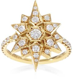 Susan Foster North Star Diamond Ring
