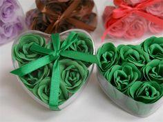 Heart Rose Soap Petals-Emerald Green Wedding Favors #wedding #favors Bridal Shower Decorations, Bridal Shower Favors, Wedding Favors, Wedding Ideas, Wedding Styles, Wedding Planning, Wedding Inspiration, Emerald Wedding Theme, Emerald Green Weddings