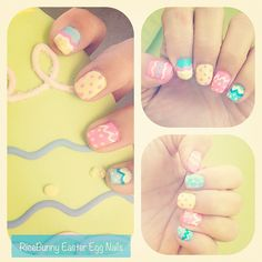 Cute Easter Egg Nails