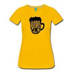 design tee-shirt la bière c'est vie ! la bière c'est bon ! buvez en ! T Shirt, Sports, Mens Tops, Design, Women, Fashion, Woman, Supreme T Shirt, Hs Sports