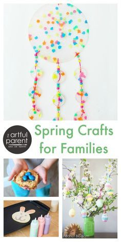 Spring Crafts for Kids and Families