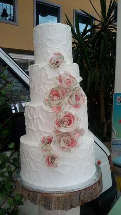 La #weddingcake di Cakes on the road di simocakedesigner.it