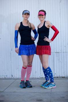 Sparkle Running Skirt by Sparkle Athletic #teamsparkle #4thofjulyrunninggear